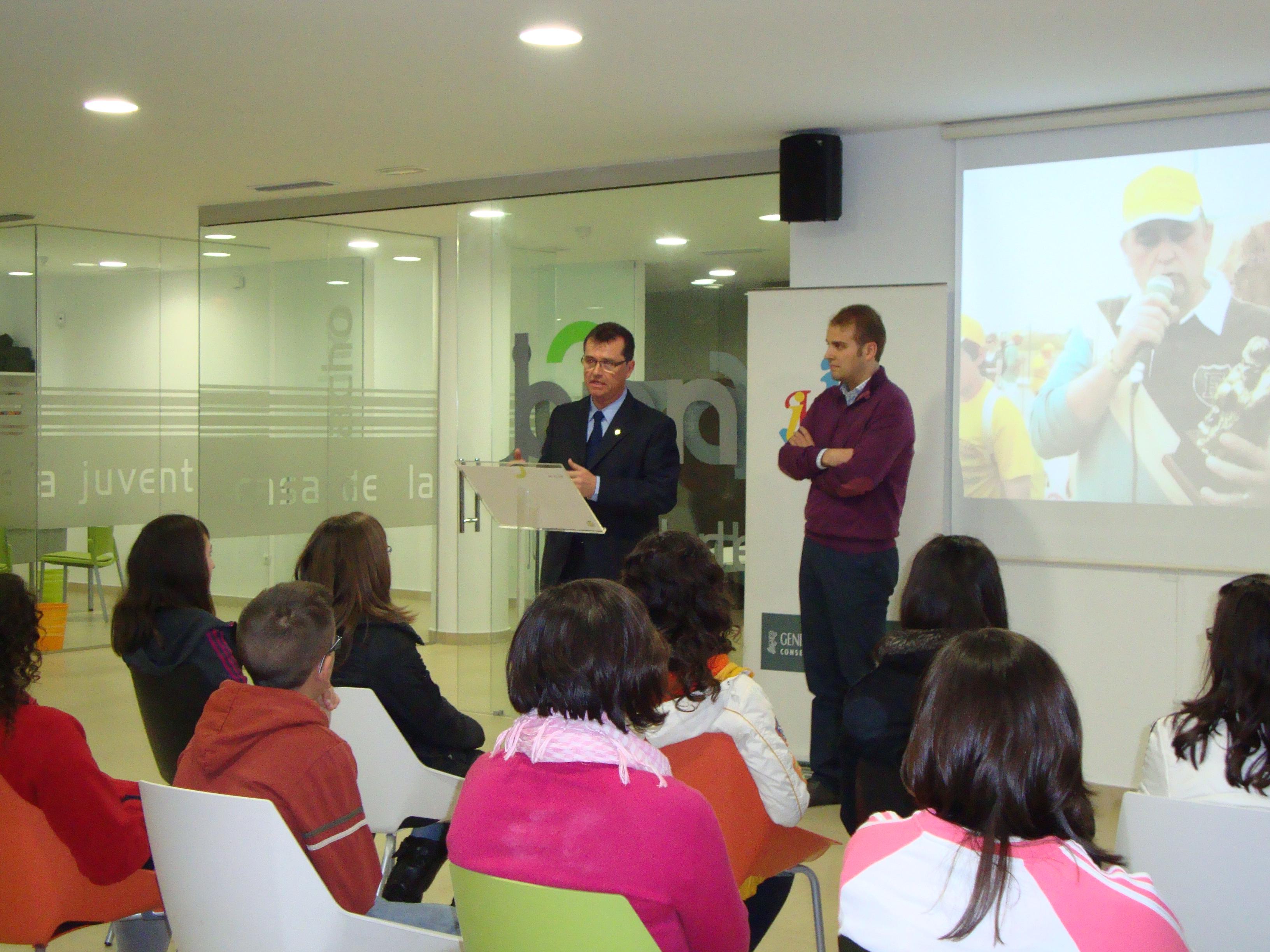 Foto Inauguracion Casa de la Juventud