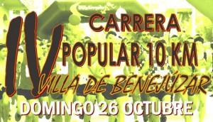 IV CARRERA POPULAR 10KM VILLA DE BENEJUZAR