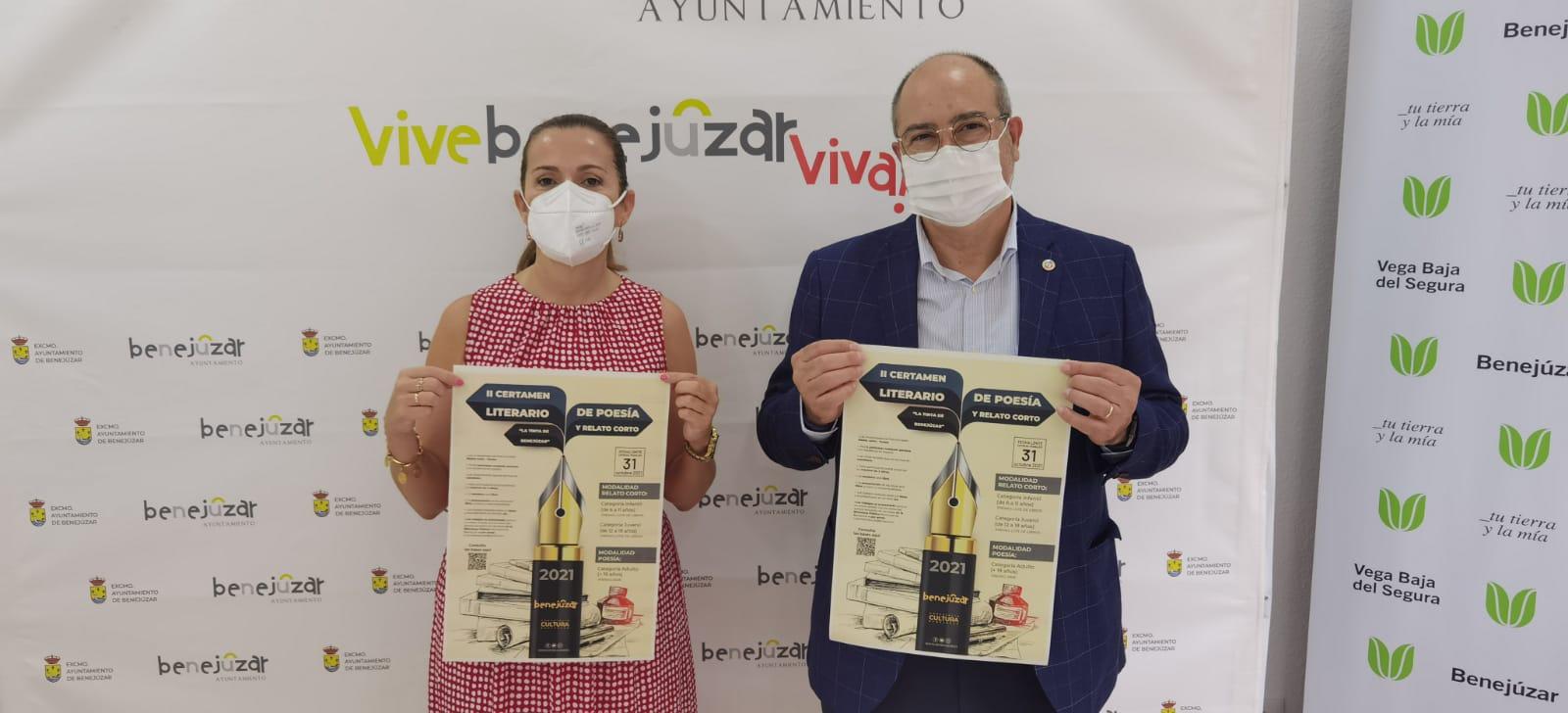 Rosa García (i) y Miguel López (d) (2)