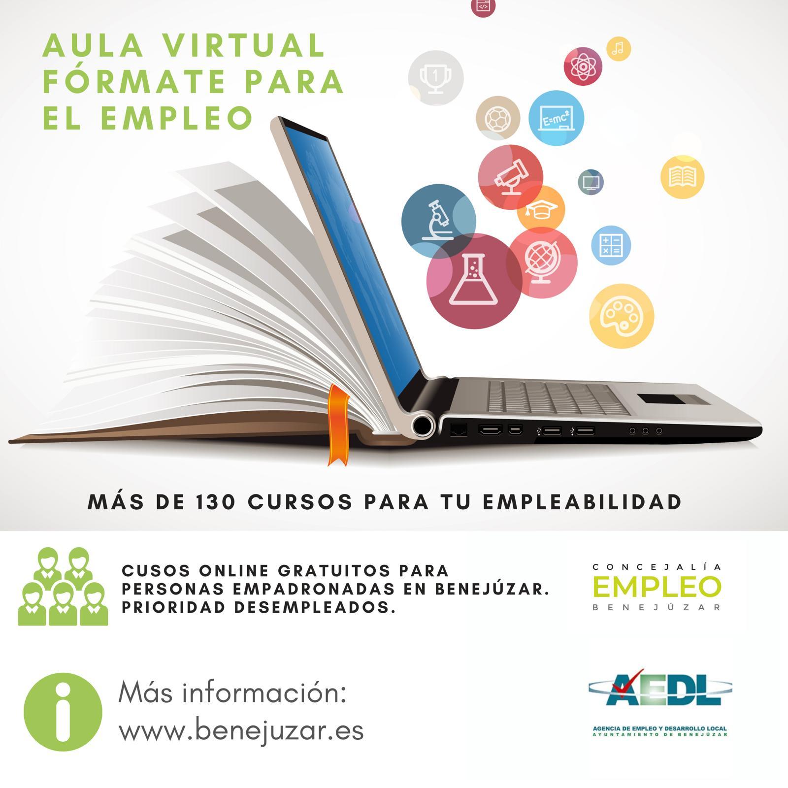 difusión redes aula virtual