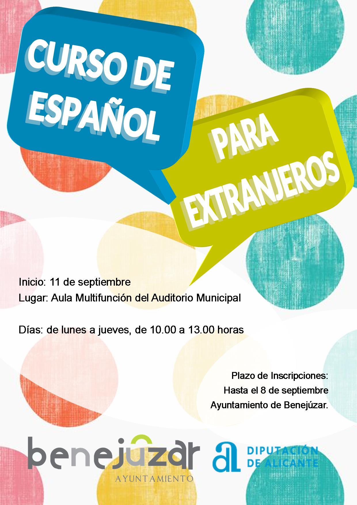 curso español extranjeros sep17