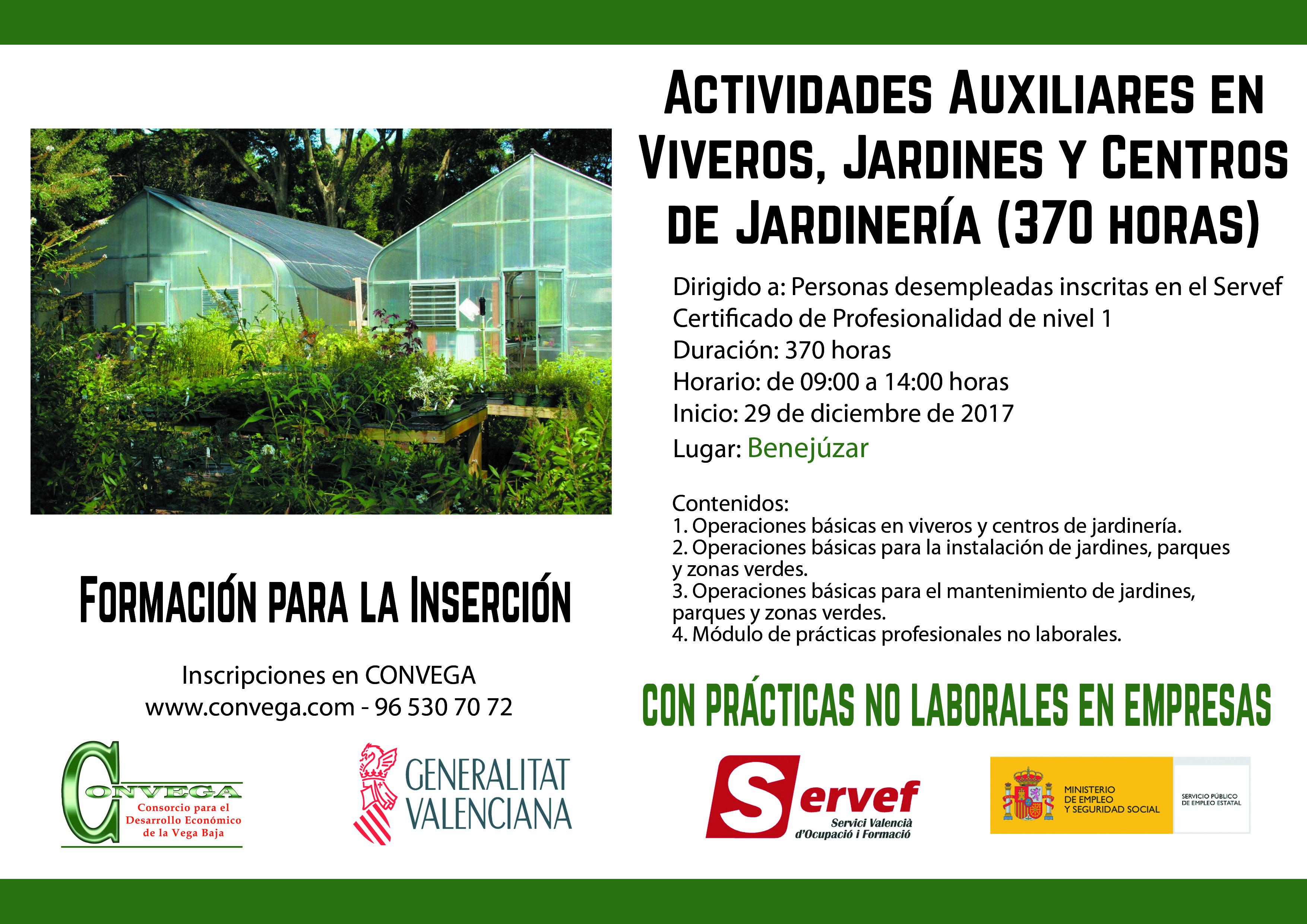 Cartel Act Aux Viveros_Benejúzar