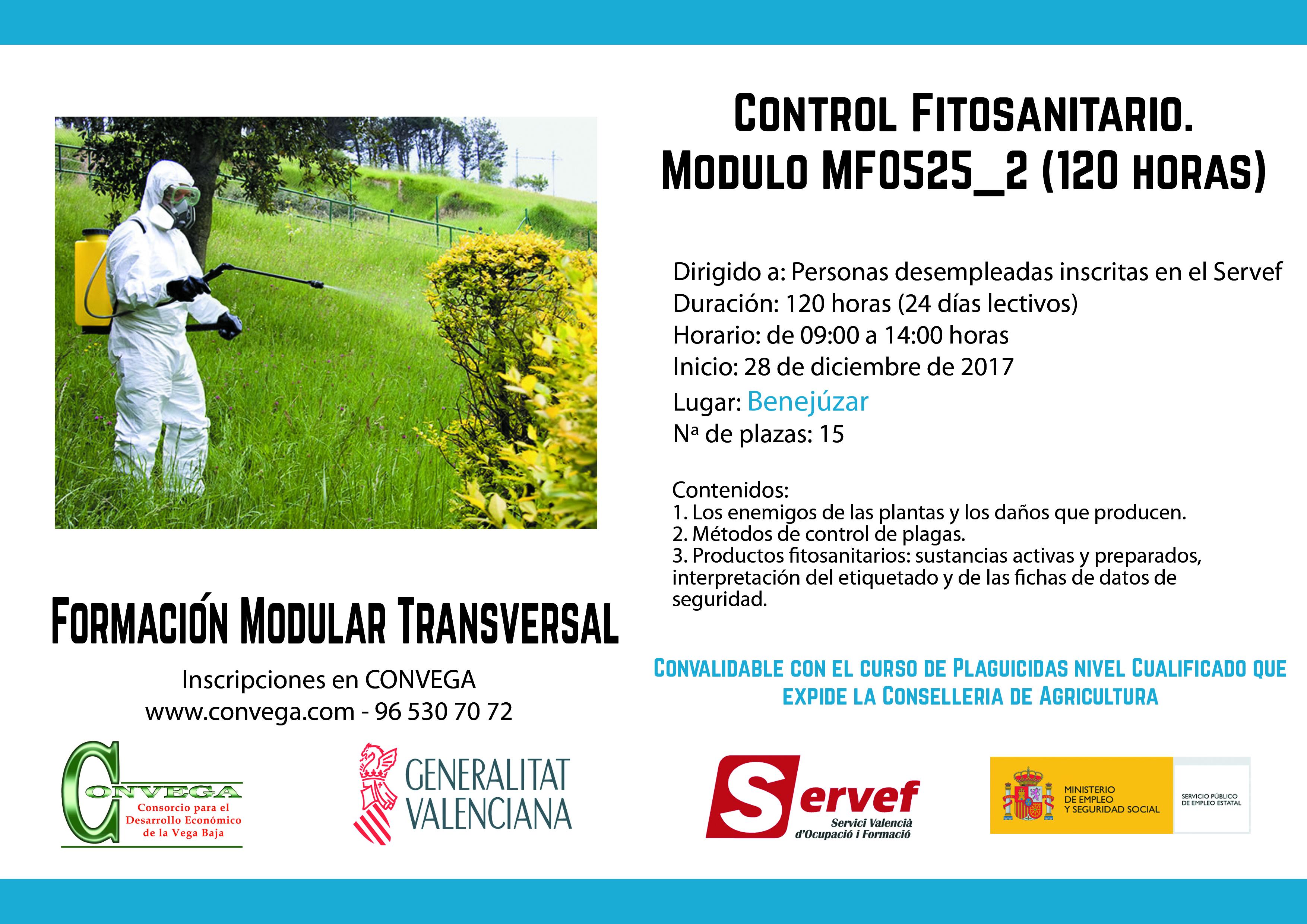 Cartel Control Fitosanitario_Benejúzar