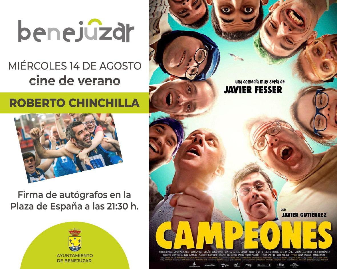 Foto 1. Cartel Roberto Chinchilla Campeones