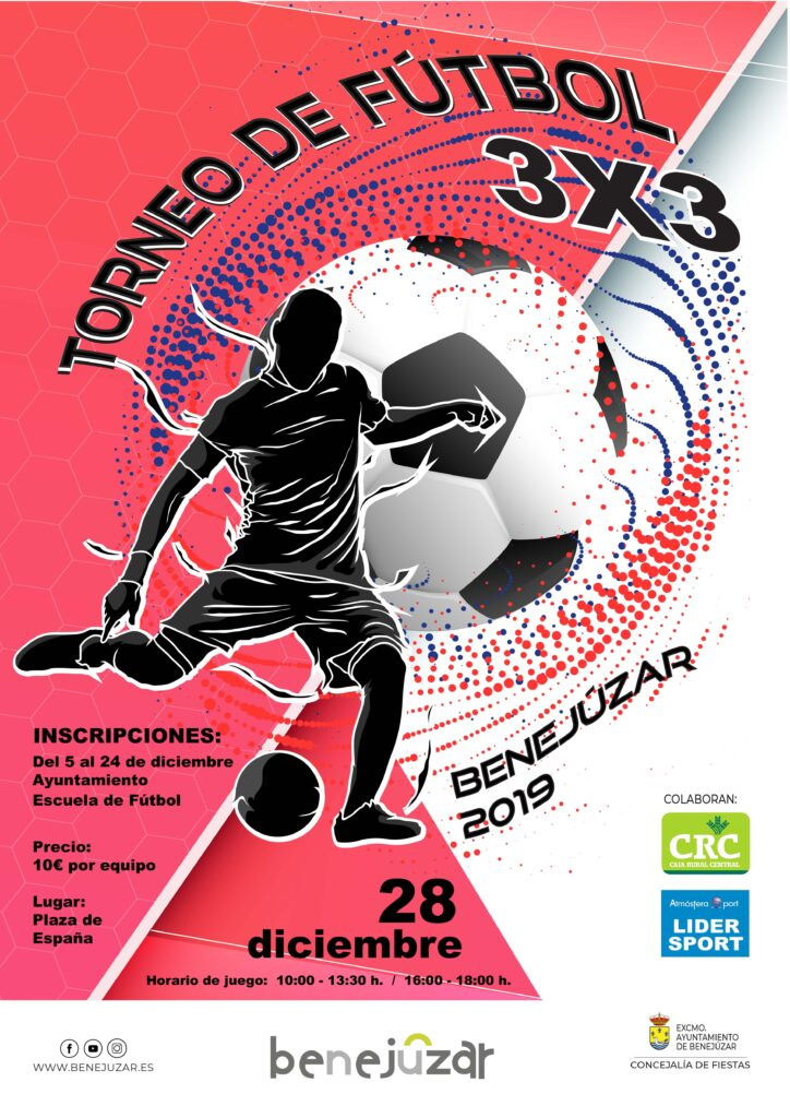 cartel futbol 3x3