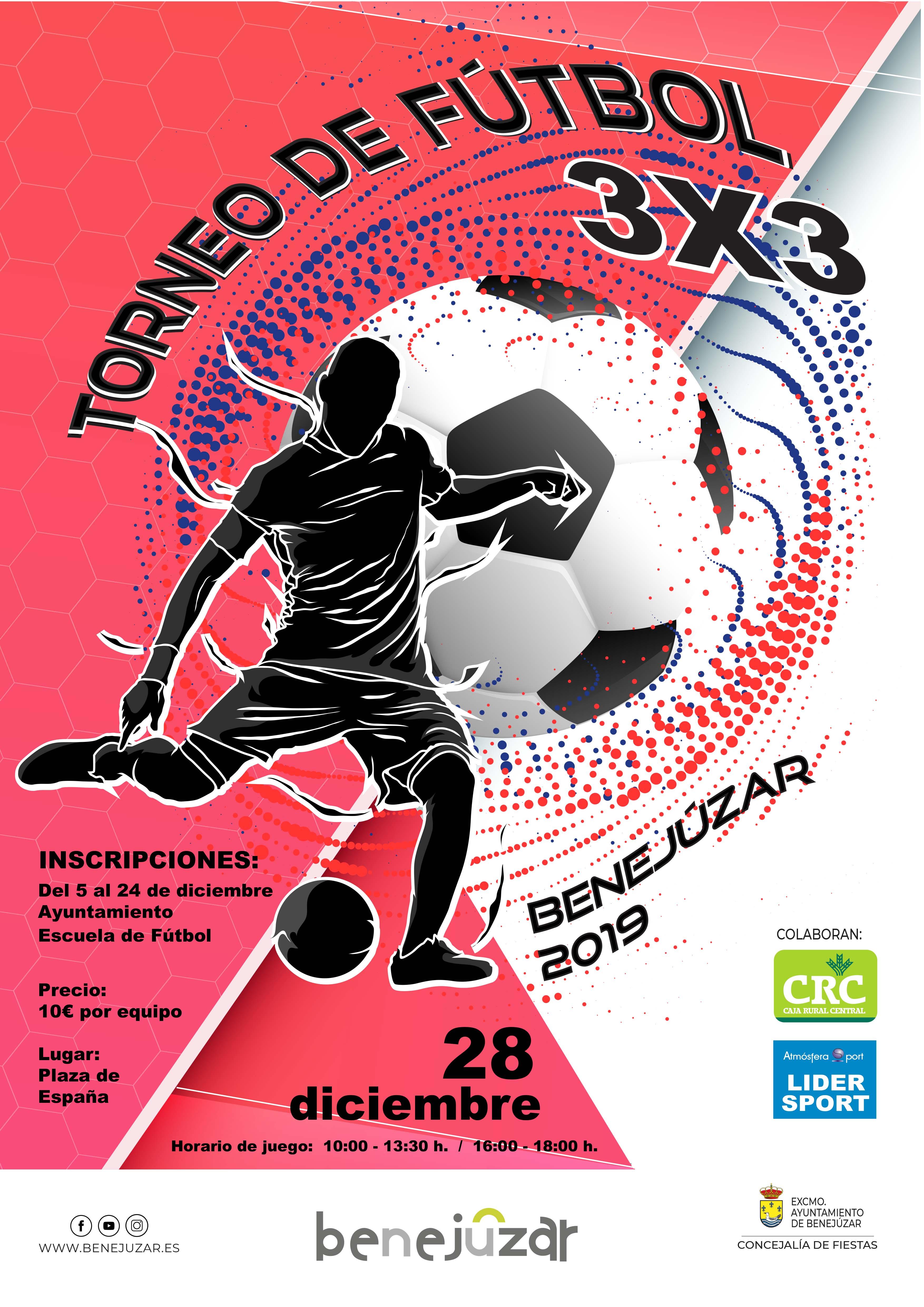 cartel futbol 3×3