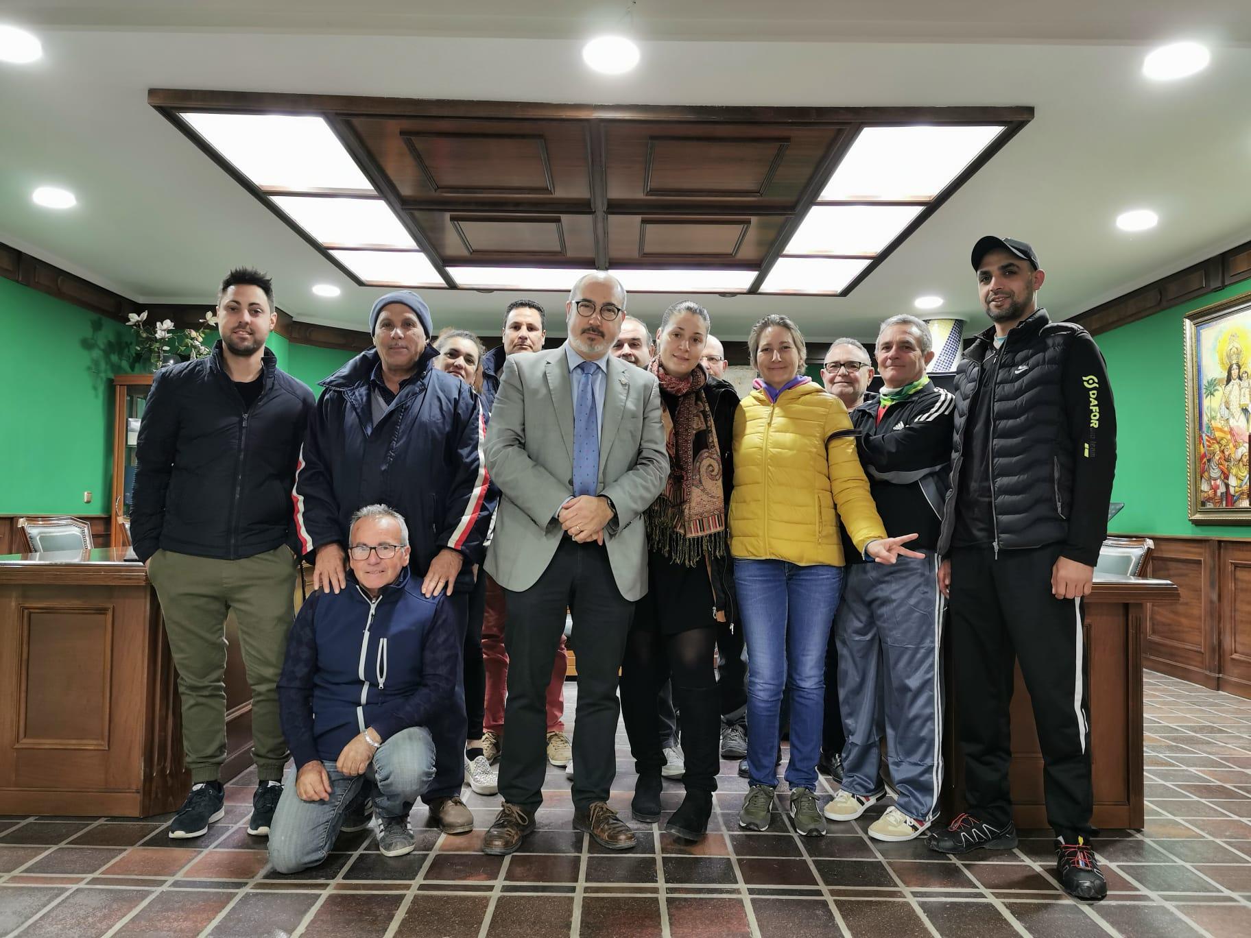 Foto 1. Trabajadores Ayuntamiento