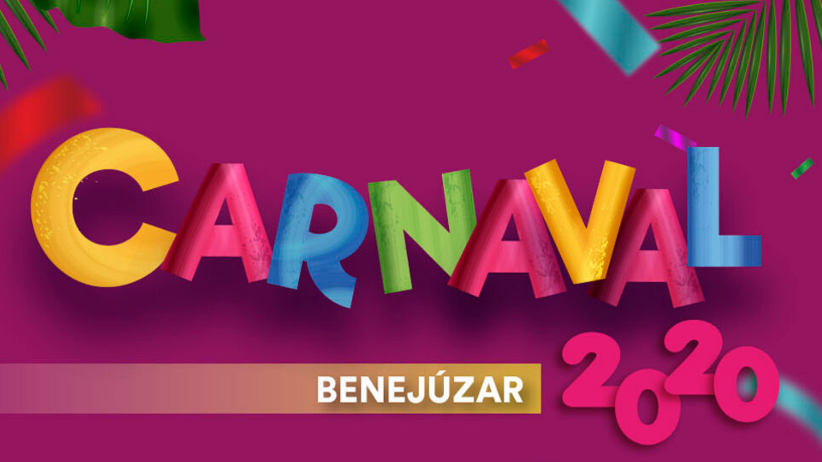 Carnaval 2020 Benejúzar