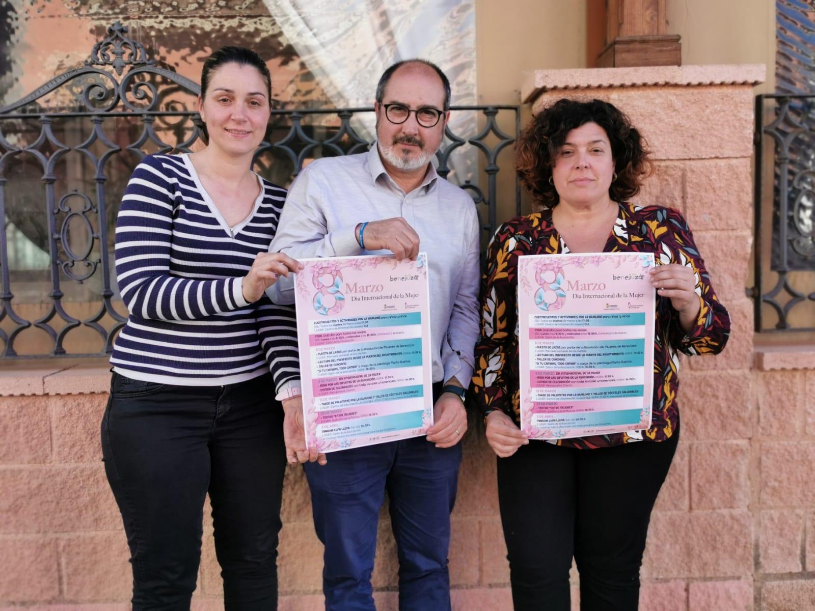 Foto 1. Actividades Día Internacional de la Mujer