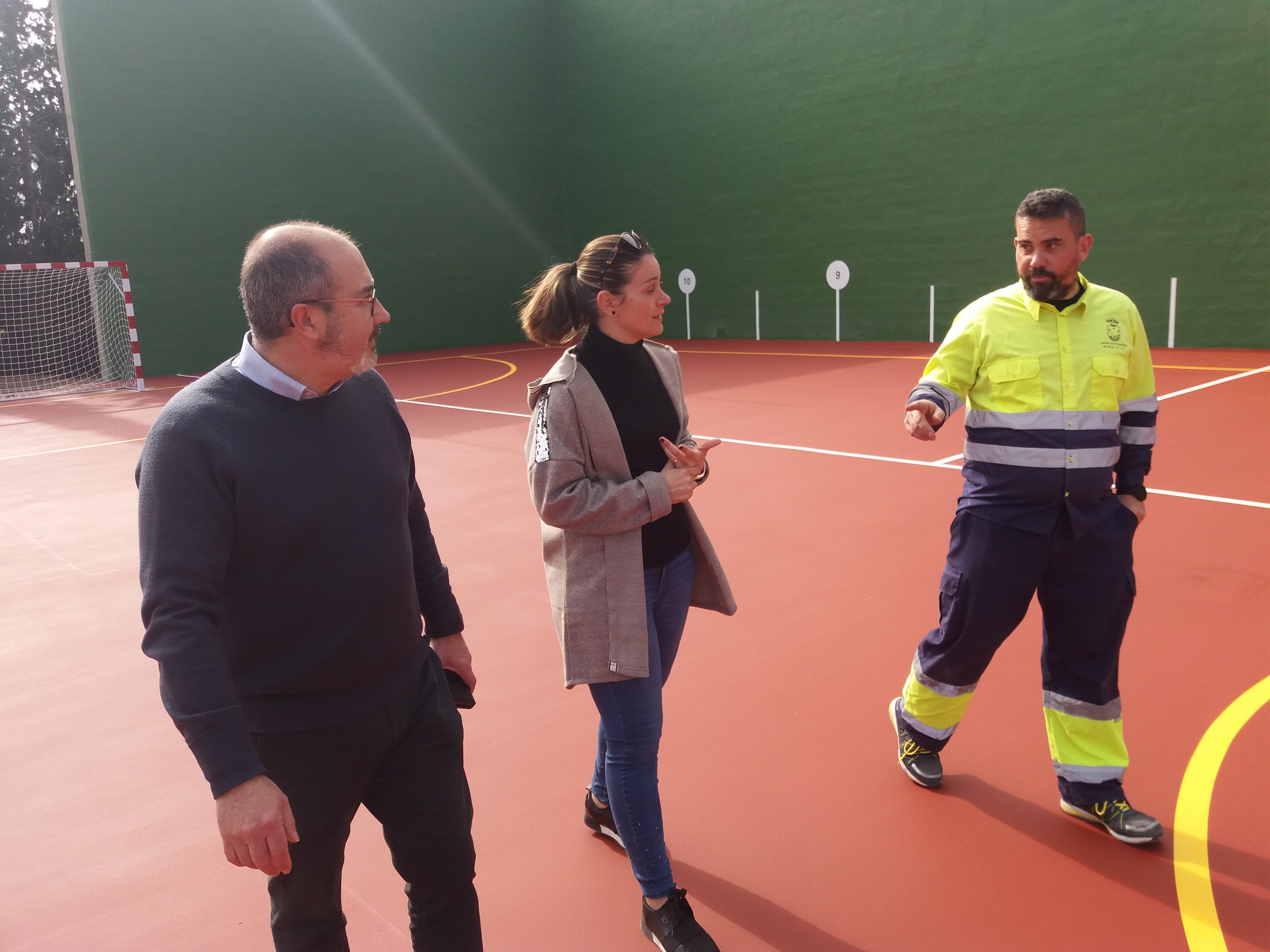 Foto 1. Remodelación polideportivo