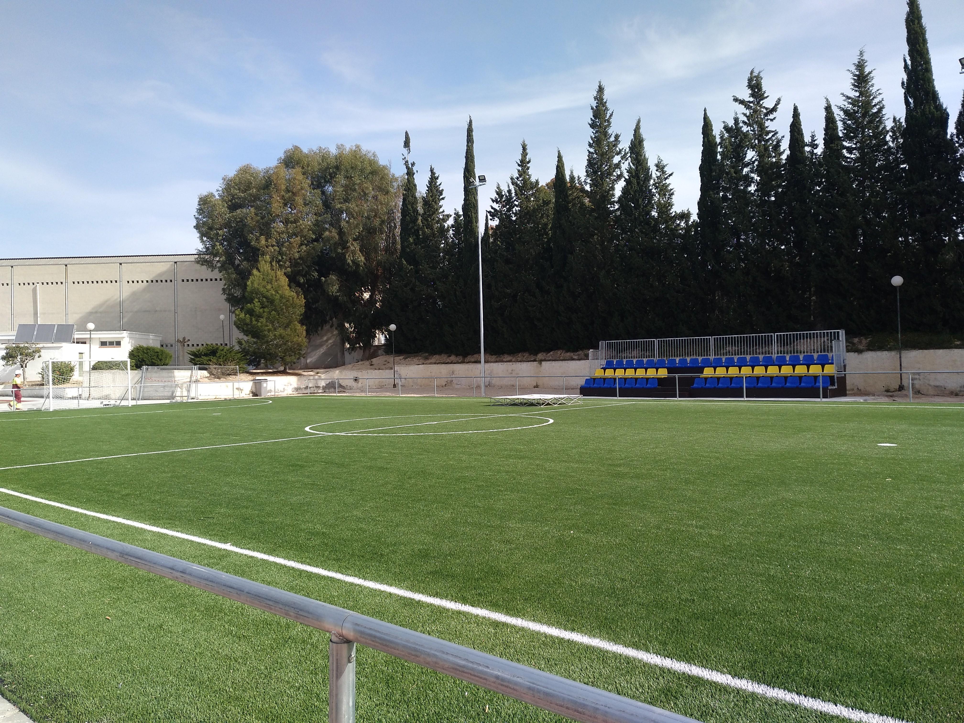 Foto 2. Remodelación polideportivo