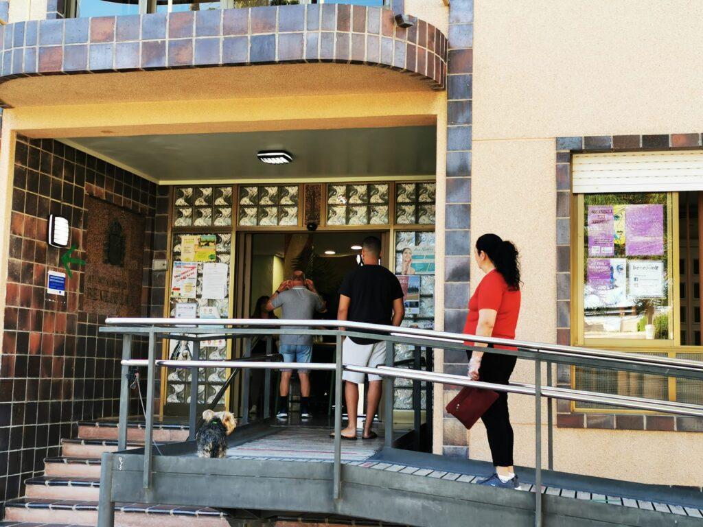 BENEJÚZAR Foto 1. Apertura Ayuntamiento