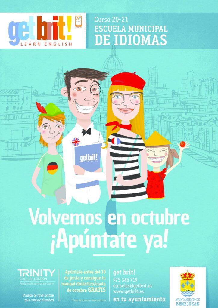 Escuela municipal de idiomas poster