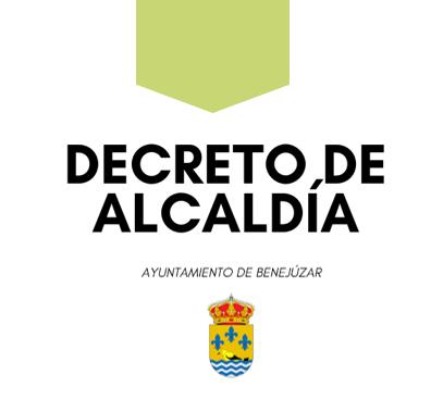 decreto alcaldia