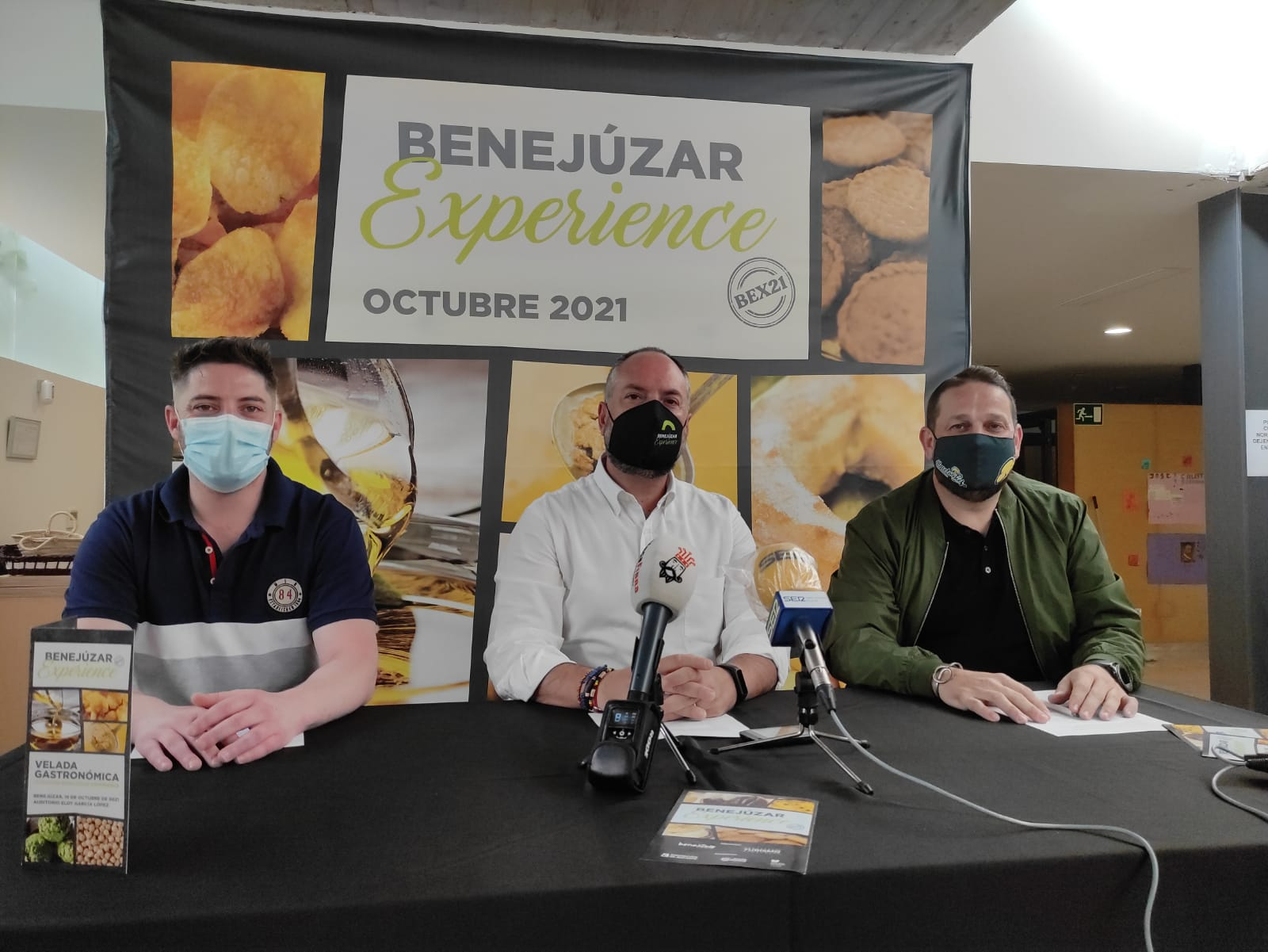 Foto de la rueda de prensa Velada Gastronómica